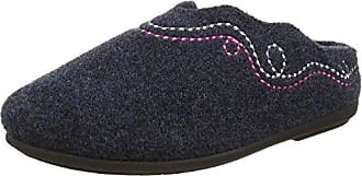 Heidi, Chaussons Femme - Gris - Gris, 38Padders