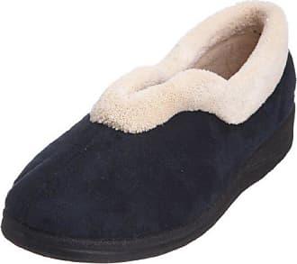 Padders Paula, Zapatillas de Estar por Casa para Mujer, Azul (Navy/Combi 96), 38 EU