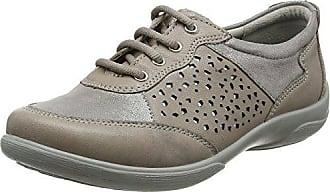 Padders Harp, Zapatos de Cordones Oxford para Mujer, Grey (Grey Combi), 37 EU