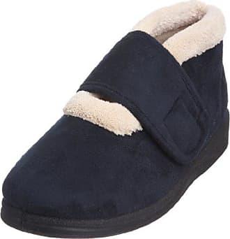 Padders Freesia, Zapatillas de Estar por Casa para Mujer, Azul (Navy Combi 96), 39 EU