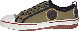 Grayson Canvas Sneaker Dark Beige Dark Brown, Groesse:42.0 Pajar