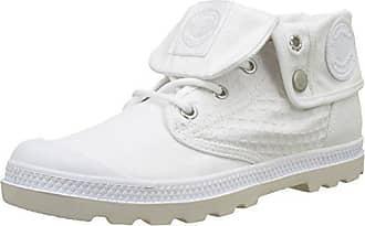 Pallaphoenix Og Leather, Sneaker Donna, Bianco (White 420), 39 EU Palladium