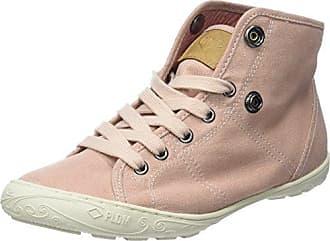 Palladium Baggy, Hohe Sneakers Femme, Bleu (Anthracite/Marshmallow), 36 EU