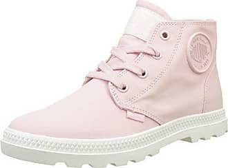 Palladium Pallabrouse Mid LP, Zapatillas para Mujer, Rosa (Rose Dust/Silver Birch), 39.5 EU