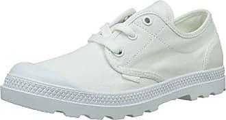 Palladium Desvilles, Zapatillas Unisex Adulto, Blanco (White/Bwr), 46 EU