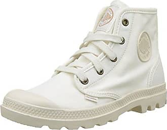 Pampa Hi, Botas para Mujer, Blanco (420/White), 39 EU Palladium