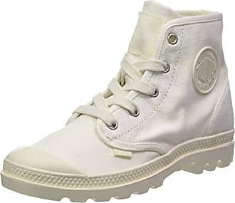 Womens Wander Lace Leather Trainers, Beige (Blanc Whisper Pink/Star White M20), 7 UK Palladium