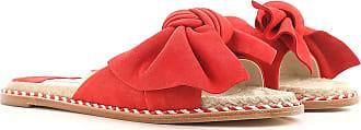 Zapatos de Mujer Baratos en Rebajas Outlet, Rojo, Gamuza, 2017, 39 Paloma Barceló
