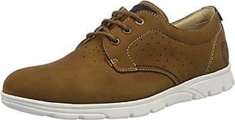 Panama Jack Tommy, Zapatos de Cordones Oxford para Hombre, Marrón (Cuero), 45 EU