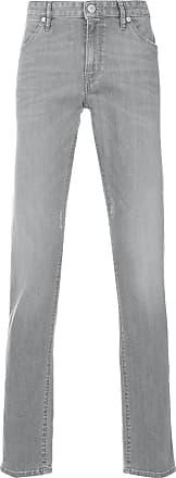 distressed effect regular jeans - Grey Pantaloni Torino