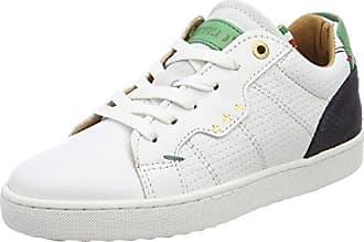 Pantofola D'oro Napoli Ragazzi Low, Zapatillas para Niños, Blanco (Bright White), 33 EU