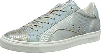 Pantofola Doro Lecce Pailette Donne Low, Zapatillas para Mujer, Plateado (Silver), 36 EU Pantofola D'oro