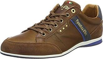 Pantofola d'Oro Roma Uomo Low, Zapatillas Para Hombre, Schwarz (Black), 46 EU