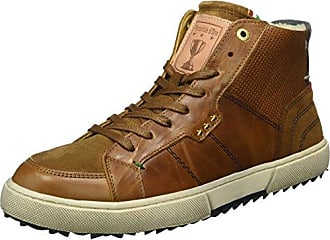 Pantofola D'oro 10163010 - Tobillo bajo de Piel Hombre, Color Marrn, Talla 40 EU