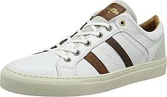 Comacchio Canvas Low, Sneaker Uomo, Nero (Black.25Y), 46 EU Pantofola D'oro