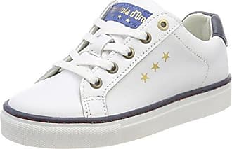 Pantofola D'oro Vasto Ragazzi Low, Zapatillas para Niños, Blanco (Bright White), 36 EU