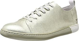 NYC, Chaussures Femme - Blanc - Blanc/Noir, 39 EUPantone