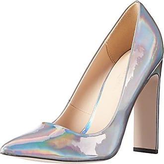 Orla, Zapatos de Tacón con Punta Cerrada para Mujer, Marfil, 40 EU Paper Dolls