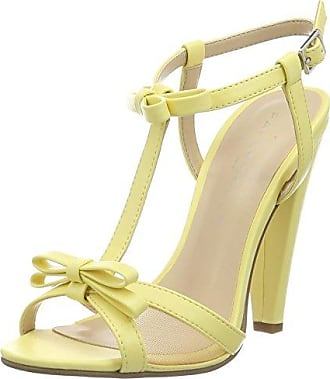 Tricia, Sandales Bout Ouvert Femme, Jaune (69 Mustard), 38 EUAldo