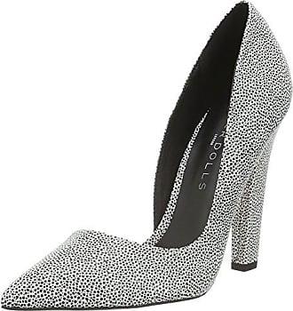 3004550, Zapatos de Tacón con Punta Cerrada para Mujer, Gris (Grau 031), 36 EU Hirschkogel