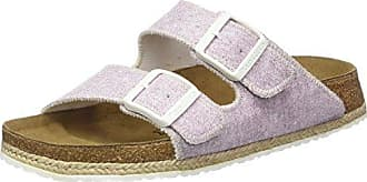 Gizeh Birko-Flor, Chanclas para Mujer, Beach Purple, Morado (Beach Purple), 35 Normal Papillio