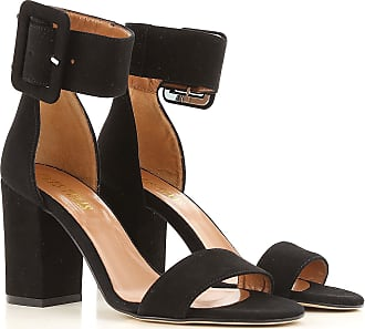 Sandals for Women On Sale, mandarine, Leather, 2017, 4.5 5.5 7.5 PARIS TEXAS