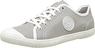 Pataugas 625114 - Zapatillas de Deporte de Lona Mujer, Gris (Gris (Gris 080)), 39