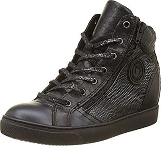 Yoko/O F4B, Sneakers Hautes Femmes, Noir, 37 EUPataugas