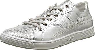 Laufsteg München FS161211 - Zapatillas Mujer, Color Blanco (White Silver), Talla 42