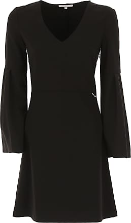 Dress for Women, Evening Cocktail Party On Sale, Black, poliestere, 2017, 8 Patrizia Pepe