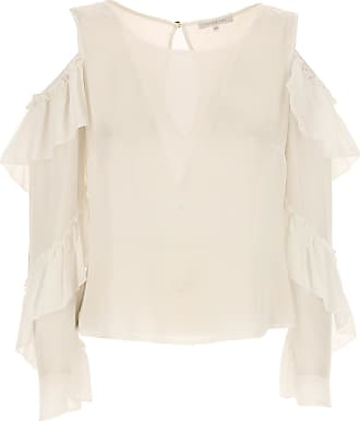 Top for Women On Sale, White, polyester, 2017, 1a -- Eu 38/40 2a -- Eu 40/42 Patrizia Pepe
