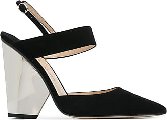 Paul Andrew Woman Mesh-paneled Suede Sandals Black Size 40 PAUL ANDREW