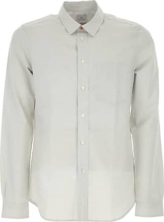 Shirt for Men On Sale, Green, Cotton, 2017, S - IT 46 M - IT 48 XL - IT 52 Paul Smith
