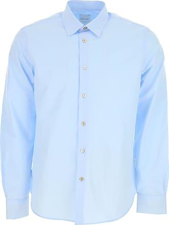 Shirt for Men On Sale, navy, Cotton, 2017, S - IT 46 L - IT 50 XL - IT 52 Paul Smith