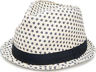 Hat for Women On Sale, Dark Avio Blue Melange, Cotton, 2017, Universal size Paul Smith