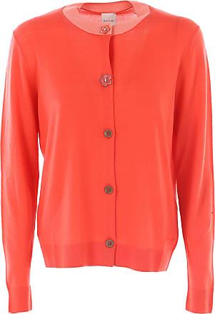 Sweater for Women Jumper On Sale, Brick Orange, Wool, 2017, 12 8 Paul Smith