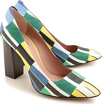 Pumps & High Heels for Women, Multicolor, Fabric, 2017, 8.5 Paul Smith