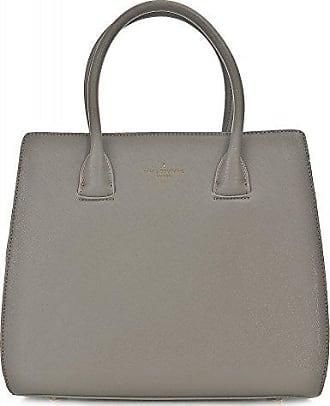 COCO, Damen Handtaschen, Henkeltaschen, Tote Bag, Hellgrau 38 x 33 x 16 cm Pauls Boutique