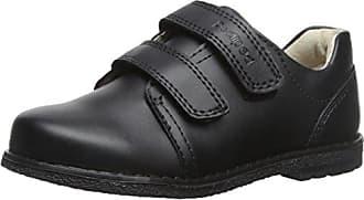 Ecco Cohen - Zapatos sin Cordones de Cuero, Niño, Color Negro, Talla 33