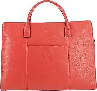 Damen Henkeltasche rot rot 29.0 (L) x 26.0 (H) x 17.0 (E) cm Pellet
