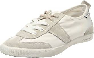 9KB7H, Baskets basses femme - Blanc - blanc, 40 (7 UK)Plimsoll