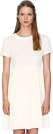 Pepa Loves Womens Julia Skater Plain Short Sleeve Dress Pepaloves