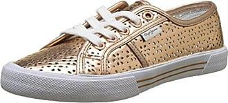 Pepe Jeans London Aberlady Daisy, Zapatillas para Mujer, Dorado (Gold), 37 EU