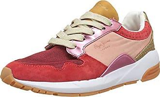 Pepe Jeans London Foster Itaca, Zapatillas para Mujer, Gris (Pilot), 37 EU