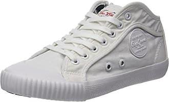 Pepe Jeans London Industry Met, Sneakers Basses Femme, Argent (Silver), 37 EU
