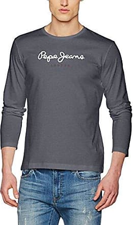 Flag Tee, T-Shirt Homme, Bleu (Jarman), X-Small (Taille Fabricant:XS)Pepe Jeans London