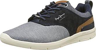 London Jayden Brogue, Sneakers Basses Homme, Bleu (Marine), 44 EUPepe Jeans London
