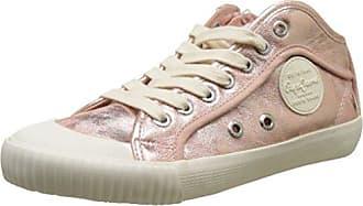 Pepe Jeans London Brompton Square, Zapatillas para Mujer, Rosa (Mauve Pink), 38 EU