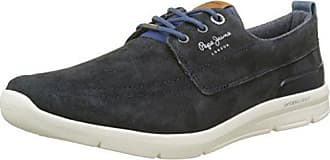 Mens Jayden 2.1 Essentials Trainers, Blue Pepe Jeans London