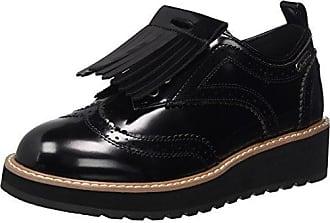 London Ramsy Tassel, Zapatos de Cordones Brogue para Mujer, Negro (Black), 39 EU Pepe Jeans London